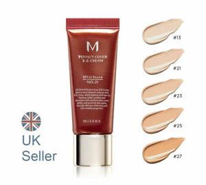 MISSHA M Perfect Cover BB Cream [20ml] #21,23 SPF42PA+++, UK Seller RRP £17.99
