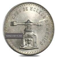 1 oz Mexican Silver Peso Balancing Scale Avg Circ (Random Year, 1978-1980)
