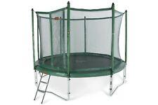 12ft Avyna trampolines with safety enclosure, ladder and anchor set