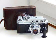 Zorki (1) (C) (S) RANGEFINDER USSR Copy Leica Film Camera w/s lens INDUSTAR-22