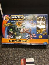 2012 Angry Birds Star Wars Death Star Jenga Board Game Complete Hasbro Toy .