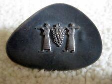 Vintage Silver ISRAEL BIBLICAL Figures Judaica PIN Brooch PENDANT