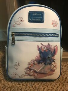 Loungefly Disney Lilo and Stitch Ducklings Mini Backpack With Tags