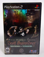 Shin Megami Tensei: Devil Summoner (PS2) CASE AND MANUAL ONLY NO DISC