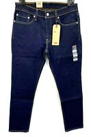 Levi's Mens 511 Slim Stretch 32 x 32 Dark Wash Blue Jeans Denim NWT A3737