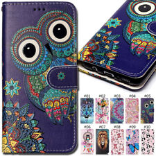 For Samsung Galaxy Varnish embossed Pattern PU Leather Stand Wallet Case Cover