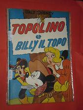 ALBO D'ORO TOPOLINO n°80 -C-DEL 1953-LIRE 50-BILLY IL TOPO-mondadori- disney