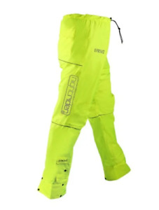 Proviz Women's Nightrider Waterproof Cycling Trousers - Yellow, size10 BRAND NEW
