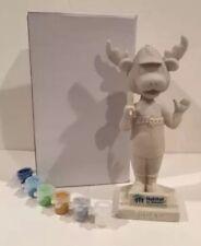 ROCKY BLUEWINKLE Wilmington Blue Rock Mascot BobbleHead Paint A Bobble SGA Royal