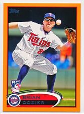BRIAN DOZIER 2012 TOPPS UPDATE ORANGE FACTORY SET PARALLEL RC #US161 #'D 154/210
