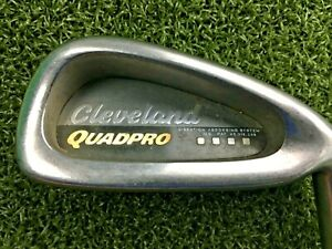 "Cleveland Quadpro 6 Iron / RH / ~37.5"" Factory Regular Graphite / Nice / mm8637"