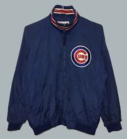 Boys Youth XL Majestic Authentic Collection Chicago Cubs Jacket MLB warm Up