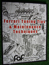 Ferrari Tuning Tips & Maintenance Techniques Guide Book Manual 250 330 365 246