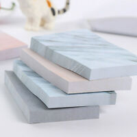1* Creative Rectangle Stone Sticky Notes Memo Pad Planner Stickers Stationery