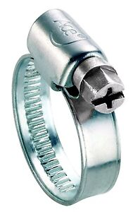Ace 40 - 60mm Mild Steel Hose Clip NEW Stand Top Up Pack
