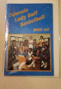 Colorado Lady Buff Basketball guide 1985-86