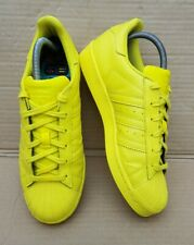 ADIDAS SUPERSTAR II PHARRELL WILLIAMS SHELL TOE TRAINERS IN SIZE 4 UK YELLOW