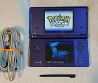 Nintendo DSi Midnight Blue, Purple With Oem Charger, & 3rd party Stylus NO Game