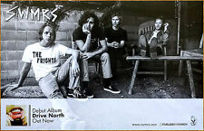 SWMRS Drive North 2017 Ltd Ed New RARE Poster +FREE Punk Indie Rock Poster!