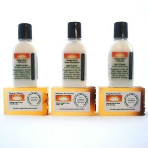ECZEMA relief - Organic Remedies Cleanser & Cream Sample Pack for Itchy Red Skin