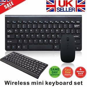 Universal Wireless Mouse & Keyboard Combo Set for Acer Dell Lenovo HP Desktop UK
