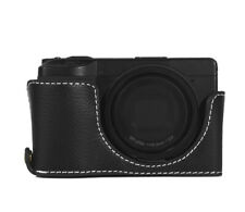 Real half Shell Ricoh Size III Pouch Black Camera Case CC1819a