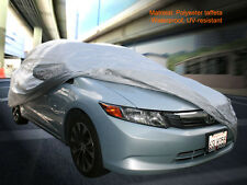 Brand New Car Cover Silve Waterproof UV-resistant Polyester Taffeta Fedar