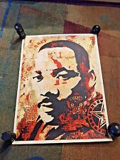 SHEPARD FAIREY, Martin Luther King Jr Print, SIGNED & NUMBERED (2005)