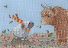 KL163 Highland Family - Autumn Cross Stitch Kit by Genny Haines