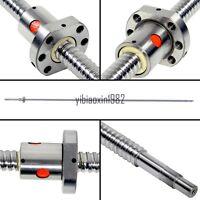 For CNC SFU1604-820mm Ball Screw RM1604 End Machine With Single Flange Ballnut