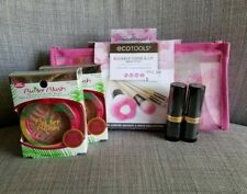 EcoTools Kissable Cheek & Lip Beauty Kit Makeup Brush Set w/ Blushes & Lipstick