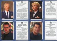 Stargate SG-1 Season Eight Personnel Files Chase Card Set PF1 thru PF9