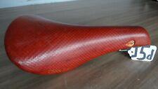 CINELLI VOLARE SLX RED TEXTURED SADDLE GOOD CONDITION          (J5D)