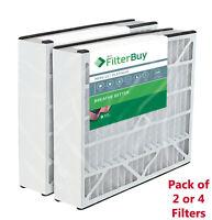 AC Air Filters Trion Air Bear 229990-101 Compatible MERV 13 FilterBuy 16x25x3