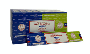 Satya Aruda Nag Champa Incense Joss Sticks 15g available in 3 or 12 Pack