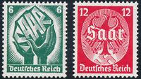 DR 1934, MiNr. 544-545, 544-45, tadellos postfrisch, Mi. 90,-