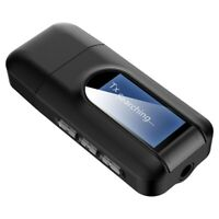 Chiavetta USB Bluetooth Trasmettitore Aux Jack Con LCD Display Ricevitore Z189