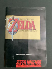 New listing Super Nintendo Instruction Booklet: The Legend of Zelda A Link to the Past Nice