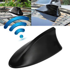 Car Shark Aerial Antenna Fin Black Universal Roof For Audi BMW Merc Honda Nissan