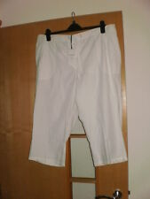 M & S Cotton Crop Classic Trousers Size 18 short BNWT 2 pairs