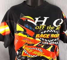 Race Rock T-Shirt XL Auto Racing Simpson Grand Prix 1998 Las Vegas Hot Off Grill