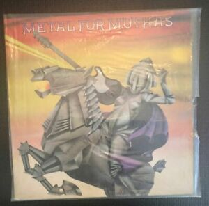 METAL FOR MUTHAS Various Artists Iron Maiden  EMI LP SHRINK