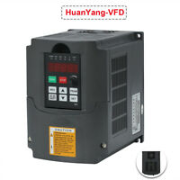 DRIVE FREQUENCY 1.5KW 2HP VARIABLE INVERTER VFD CE CERTIFICATE 7A HUAN YANG 220V