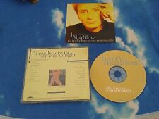 BARRY MANILOW ‎– I'd Really Love To See You Tonight USA PROMO 2 MIX C​D SINGLE