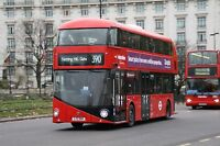 New bus for London - Borismaster LT104 6x4 Quality Bus Photo
