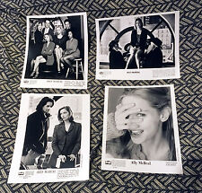 ALLY MCBEAL PROMO SEVEN-PICTURE B/W PHOTO LOT! Calista Flockhart Jane Krakowski