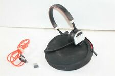 Jabra 6593-823-399 Evolve 65 Mono MS Wireless Headset w/ Cable Case & END040W