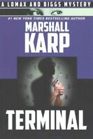 Terminal, Paperback by Karp, Marshall, Brand New, Free shipping in the US