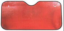 Red Metallic Wind Shield Sun Visor/Reflective Shade for Car