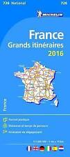 France Route Planning 2016 National Map 726 (Michelin Road Atlases & Maps)